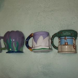 NWT collection disney parks mug set
